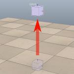 [V-REP] オブジェクトに初速度を与える