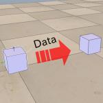 [V-REP] オブジェクト間の値のやり取り